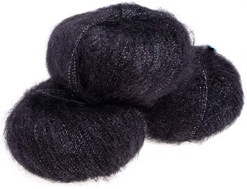 Silk Mohair Shine Very Black - 5000