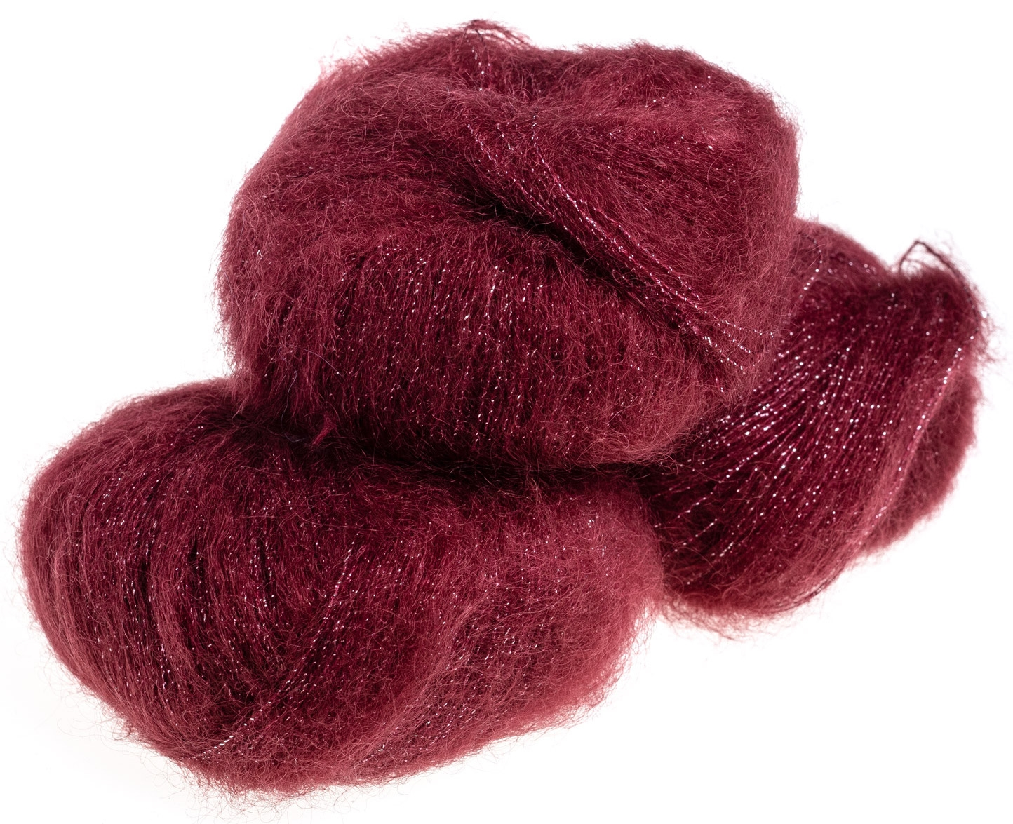 Silk Mohair Shine Bordeaux - 5891