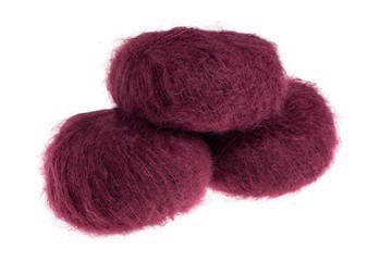 Silk Mohair Bordeaux