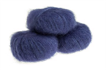 Silk Mohair Blue