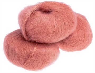 Nyhed - Silk Mohair Terracotta -8877
