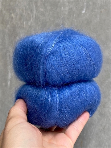 Nyhed - Silk Mohair Shine - Perfect Blue -  8397
