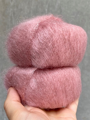 SHINE Silk Mohair  - Dark Rose - 14393