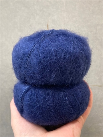 Silk Mohair - Navy - 6035
