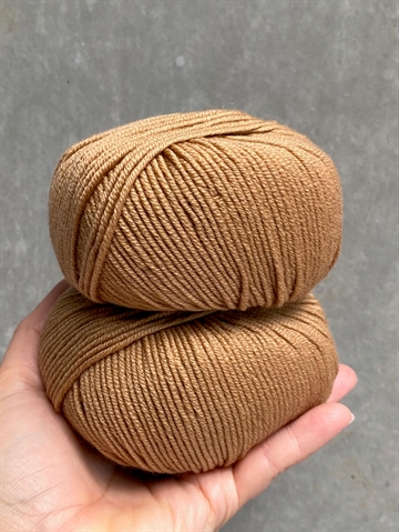 Nyhed - Supersoft Extrafine Merino 100% - Caramel - 14202