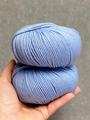 Nyhed - Supersoft Extrafine Merino 100% - Blue Sky - 14342