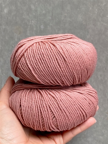 Nyhed - Supersoft Extrafine Merino 100% - Antique Rose - 14393
