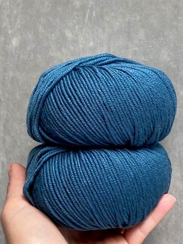 Nyhed - Supersoft Extrafine Merino 100% - Petroleum - 14527
