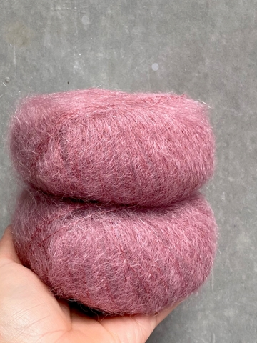 Nyhed - Mohair Royal - Dark Rose - 7259