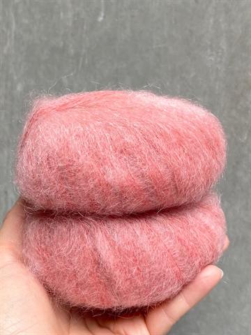 Nyhed - Mohair Royal - Coral - 14257