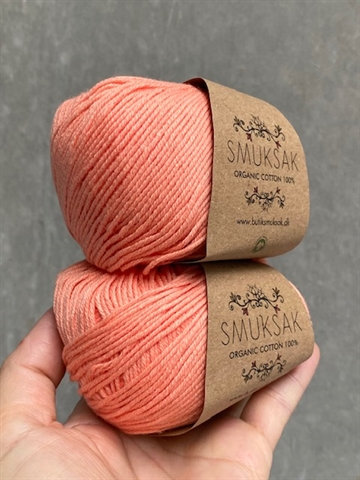 Organic Cotton 100% Pale Coral - 5307