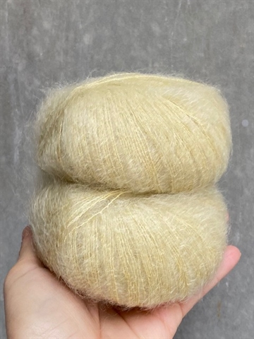Nyhed - Lime Fizz - A4255 - Silk Mohair