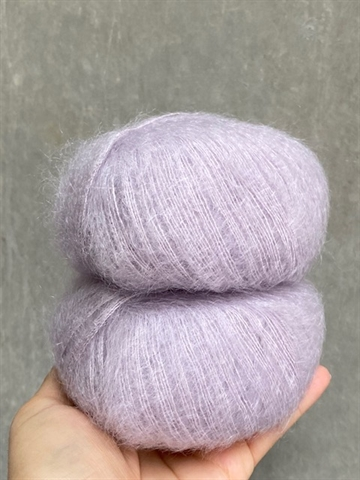 Silk Mohair - Light Lilac - A4259