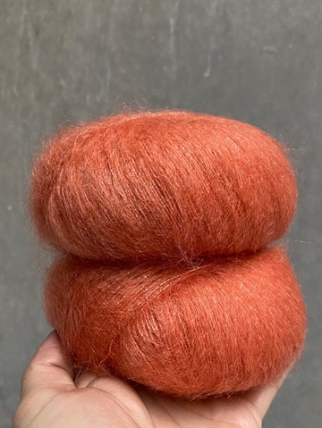 SHINE Silk Mohair - Golden Orange - 8392