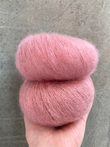 Silk Mohair - Dark Rose - 14393