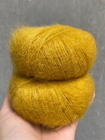 Silk Mohair - Curry - 8528