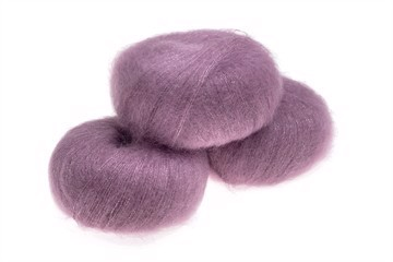 Silk Mohair Shine Dusty Rose (tidligere Antique Rose) - 12940