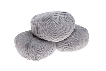 Mini Soft Merino Extrafine 100% - Superwashed - Pearl Grå Melange