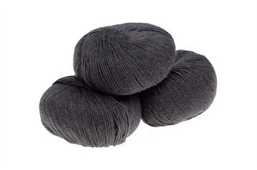Mini Soft Merino Extrafine 100% - Superwashed - Ash Grey Melange