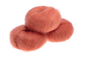 Silk Mohair Golden Orange
