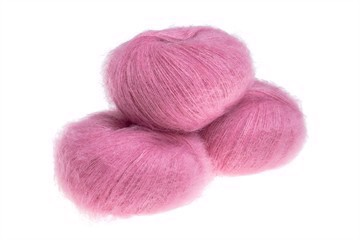Silk Mohair Strawberry Sorbet