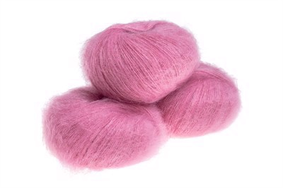 Silk Mohair Strawberry Sorbet  - 7259