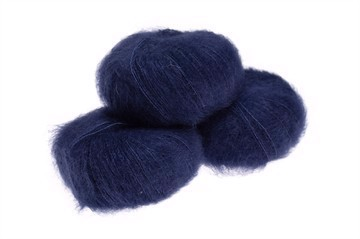 Navy - 6035 - Silk Mohair