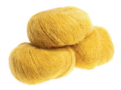 Silk Mohair Curry - 8528