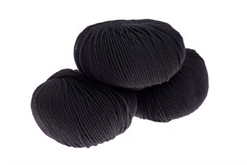 Supersoft Extrafine Merino 100% - Black - 10008