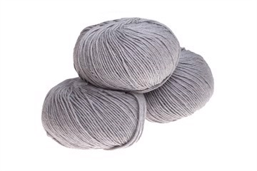 Supersoft Extrafine Merino 100% - Pearl Grey Melange - 20439